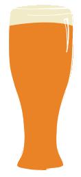 columbus craft meats beer glass