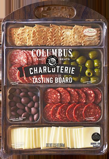 columbus craft meats tasting board